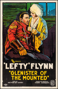 """Glenister of the Mounted (FBO, 1926). Fine/Very Fine on Linen. One Sheet (27"""" X 40.75"""") Style B. Drama"""