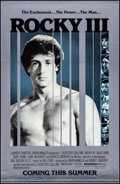 "Movie Posters:Sports, Rocky III (United Artists, 1982). Rolled, Very Fine-. Mylar One Sheet (27"" X 40"") Advance. Sports.. ..."