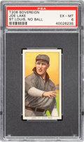 Baseball Cards:Singles (Pre-1930), 1909-11 T206 Sovereign 350 Joe Lake (St. Louis-No Ball) PSA EX-MT 6 - Pop One, One Higher for Brand. ...