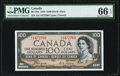 Canadian Currency, Canada Bank of Canada $100 1954 BC-35a Devil's Fac...
