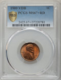 Lincoln Cents, 1909 1C VDB MS67+ Red PCGS....