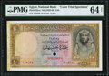 World Currency, Egypt National Bank of Egypt 10 Pounds ND (1952-60) Pick 32cts Color Trial Specimen PMG Choice Uncirculated 64 Net.. ...