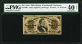 Fractional Currency:Third Issue, Fr. 1300 25¢ Third Issue PMG Extremely Fine 40 Net.. ...
