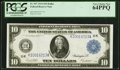Large Size:Federal Reserve Notes, Fr. 947 $10 1914 Federal Reserve Note PCGS Very Choice New 64PPQ.. ...