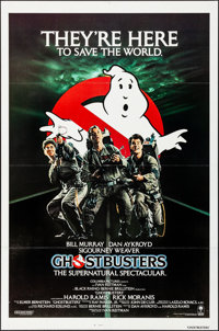 """Ghostbusters (Columbia, 1984). Folded, Very Fine+. One Sheet (27"""" X 41""""). Comedy"""