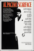 """Movie Posters:Crime, Scarface (Universal, 1983). Rolled, Very Fine+. One Sheet (27"""" X 41""""). Mike Bryan Artwork. Crime.. ..."""