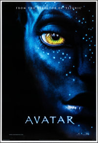 "Avatar (20th Century Fox, 2009). Rolled, Near Mint. International Untrimmed One Sheet (28"" X 41"") DS Style A..."