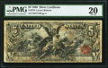 Large Size:Silver Certificates, Fr. 270 $5 1896 Silver Certificate PMG Very Fine 20.. ...