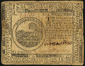 Continental Currency February 17, 1776 $6 Fine