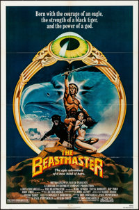 "The Beastmaster (MGM/UA, 1982). Folded, Very Fine+. One Sheet (27"" X 41"") C.W. Taylor Artwork. Fantasy"