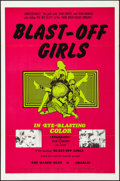 """Movie Posters:Action, Blast-Off Girls (Creative Film Enterprises, 1967). Folded, Very Fine. One Sheet (27"""" X 41""""). Action.. ..."""