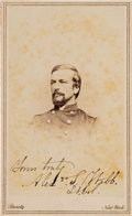 Photography:CDVs, Union General Alexander S. Webb Carte de Visite Signed...