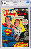 Silver Age (1956-1969):Superhero, Superman's Pal Jimmy Olsen #125 Murphy Anderson File Pedigree (DC, 1969) CGC NM 9.4 White pages....