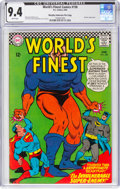 Silver Age (1956-1969):Superhero, World's Finest Comics #158 Murphy Anderson File Pedigree (DC, 1966) CGC NM 9.4 White pages....