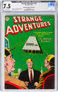 Golden Age (1938-1955):Science Fiction, Strange Adventures #49 Murphy Anderson File Pedigree (DC, 1954) CGC VF- 7.5 Off-white pages....