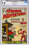 Golden Age (1938-1955):Science Fiction, Strange Adventures #42 Murphy Anderson File Pedigree (DC, 1954) CGC FN/VF 7.0 Off-white to white pages....