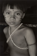 Photographs:Gelatin Silver, Valdir Cruz (Brazilian, b. 1954). Number I, Demini-Teri, Brasil, from the Yanomamo Series, 1995. Selenium toned gela...