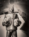 Photographs:Gelatin Silver, Michael Garlington (American, 20th Century). Tin Man on Pig Planet, 2001. Gelatin silver. 16-1/8 x 12-1/2 inches (41.0 x...