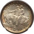 Commemorative Silver, 1925 50C Stone Mountain MS67+ NGC. NGC Census: (184/15 and 9/0+). PCGS Population: (279/5 and 29/3+). MS67. Mintage 1,314,7...