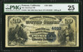 National Bank Notes:California, Pomona, CA - $20 1882 Date Back Fr. 555 The American NB Ch. # (P)4663 PMG Very Fine 25.. ...
