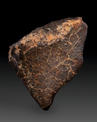 NWA Unclassified Meteorite Northwest Africa 4.24 x 3.11 x 1.86 inches (10.77 x 7.90 x 4.72 cm)