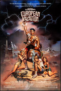 "Movie Posters:Comedy, National Lampoon's European Vacation (Warner Brothers, 1985). Rolled, Very Fine-. One Sheet (27"" X 41"") SS, Boris Vallejo Ar..."