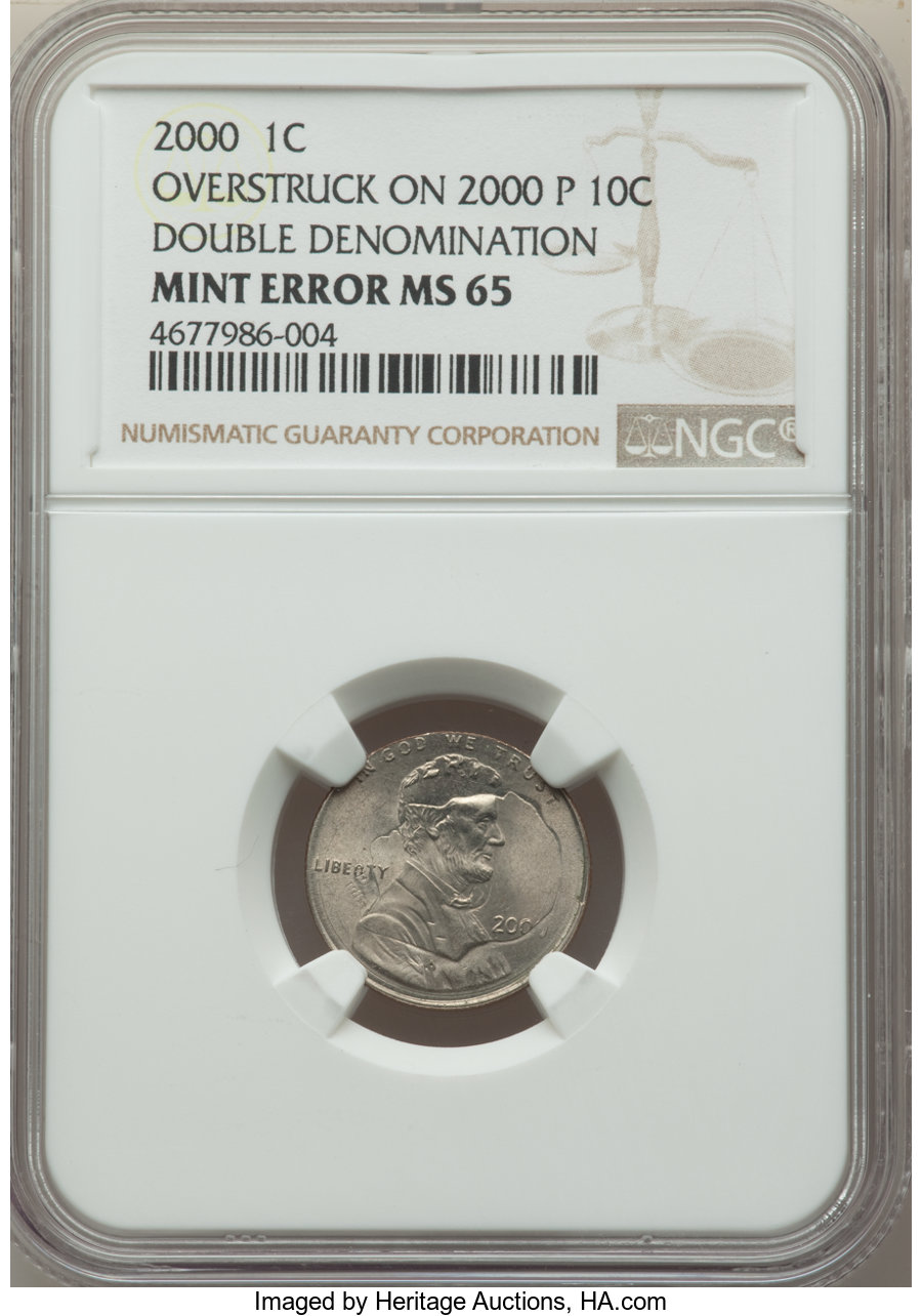 2000 1C MS Lincoln Cents, Memorial Reverse | NGC