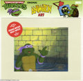 Original Comic Art:Miscellaneous, Teenage Mutant Ninja Turtles - Raphael Animation Cel (MWS Inc., 1991). Donatello takes center stage in this animation cel. T...