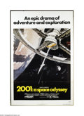 Movie Posters:Science Fiction, 2001: A Space Odyssey (MGM, R-1980)....