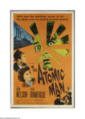 Movie Posters:Science Fiction, The Atomic Man (Allied Artists, 1956)....