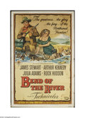 Movie Posters:Western, Bend Of The River (Universal, 1952)....