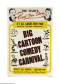 Movie Posters:Animated, Big Cartoon Comedy Carnival (Various, 1940s)....