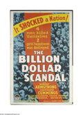 Movie Posters:Crime, Billion Dollar Scandal (Paramount, 1933)....