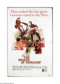Movie Posters:War, The Bridge At Remagen (United Artists, 1969)....