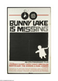 Movie Posters:Mystery, Bunny Lake is Missing (Columbia, 1965)....