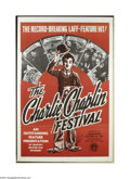 Movie Posters:Comedy, The Charlie Chaplin Festival (Guaranteed Pictures, 1938)....