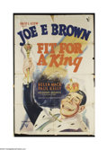Movie Posters:Comedy, Fit For a King (RKO, 1937)....
