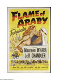 Movie Posters:Adventure, Flame of Araby (Universal International, 1951)....