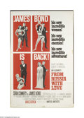 Movie Posters:Action, From Russia With Love (United Artists, 1963)....