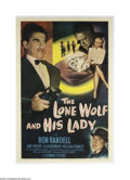 Movie Posters:Mystery, The Lone Wolf and His Lady (Columbia, 1949)....