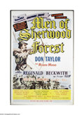 Movie Posters:Adventure, Men of Sherwood Forest (Astor Pictures Corporation, 1954)....