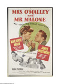 Movie Posters:Mystery, Mrs. O'Malley and Mr. Malone (MGM, 1951)....