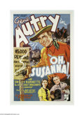 Movie Posters:Western, Oh, Susanna! (Republic, 1936)....