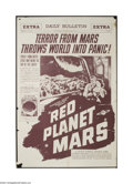 Movie Posters:Science Fiction, Red Planet Mars (United Artists, 1952)....