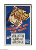 Movie Posters:Film Noir, Shadow on the Wall (MGM, 1950)....
