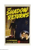 Movie Posters:Mystery, The Shadow Returns (Classic, R-1950)....