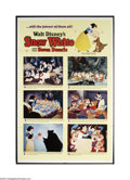 Movie Posters:Animated, Snow White and the Seven Dwarfs (Buena Vista, R-1967)....