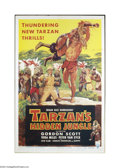 Movie Posters:Adventure, Tarzan's Hidden Jungle (RKO, 1955)....