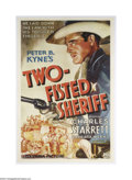 Movie Posters:Western, Two Fisted Sheriff (Columbia, 1937)....
