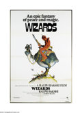 Movie Posters:Animated, Wizards (Twentieth Century Fox, 1977)....
